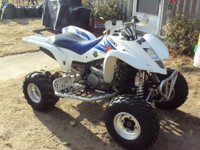 2006 suzuki ltz 400 4 wheeler $2000 - classified - slednh